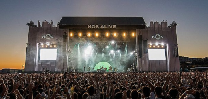 NOS Alive main stage